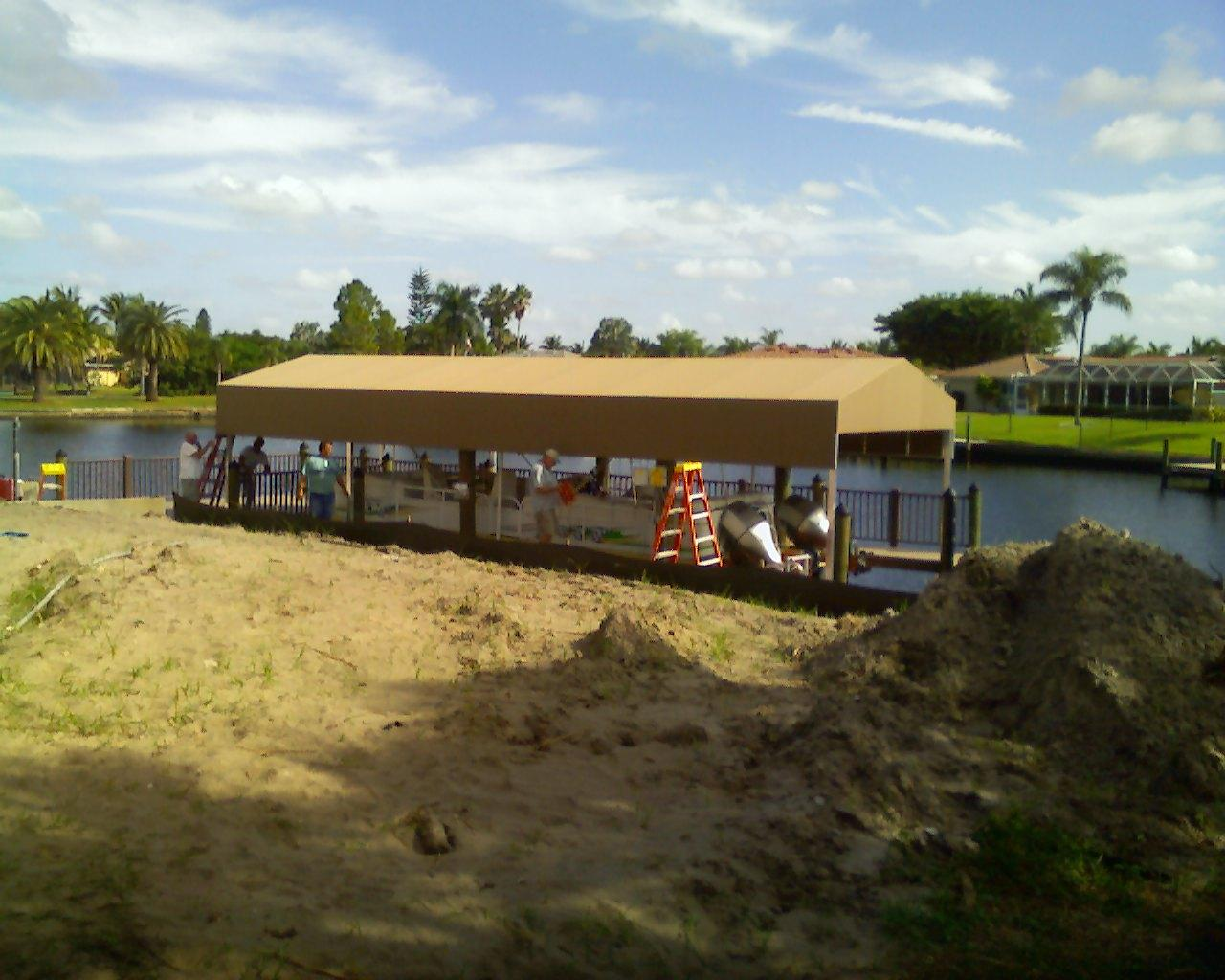 Boat Dock Covers 7