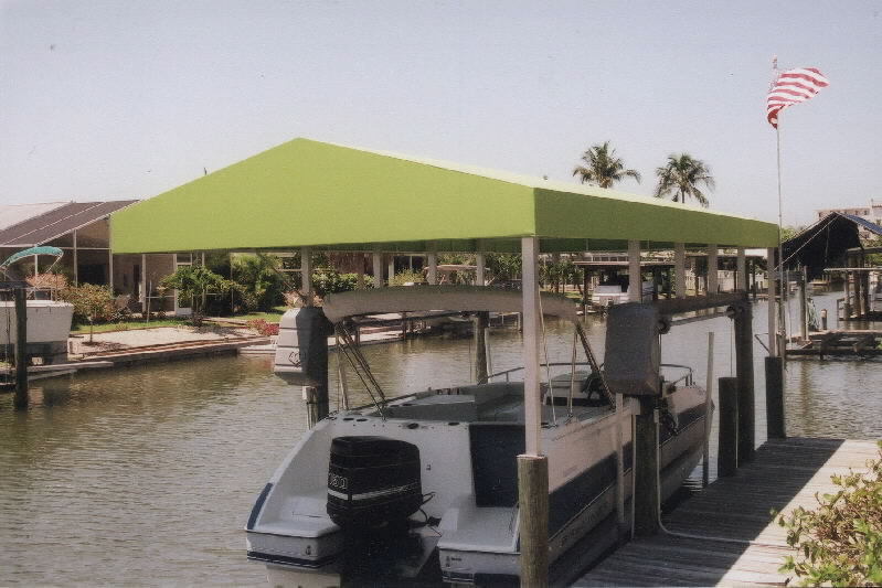 Boat Dock Covers Coastal Canvas Amp Awning
