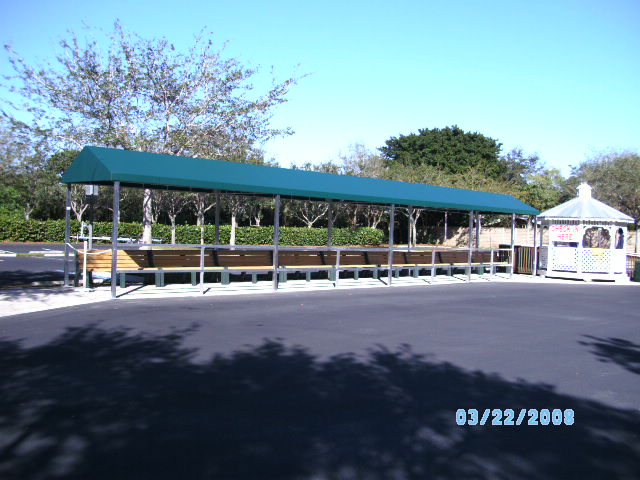Walkway Canopy 11