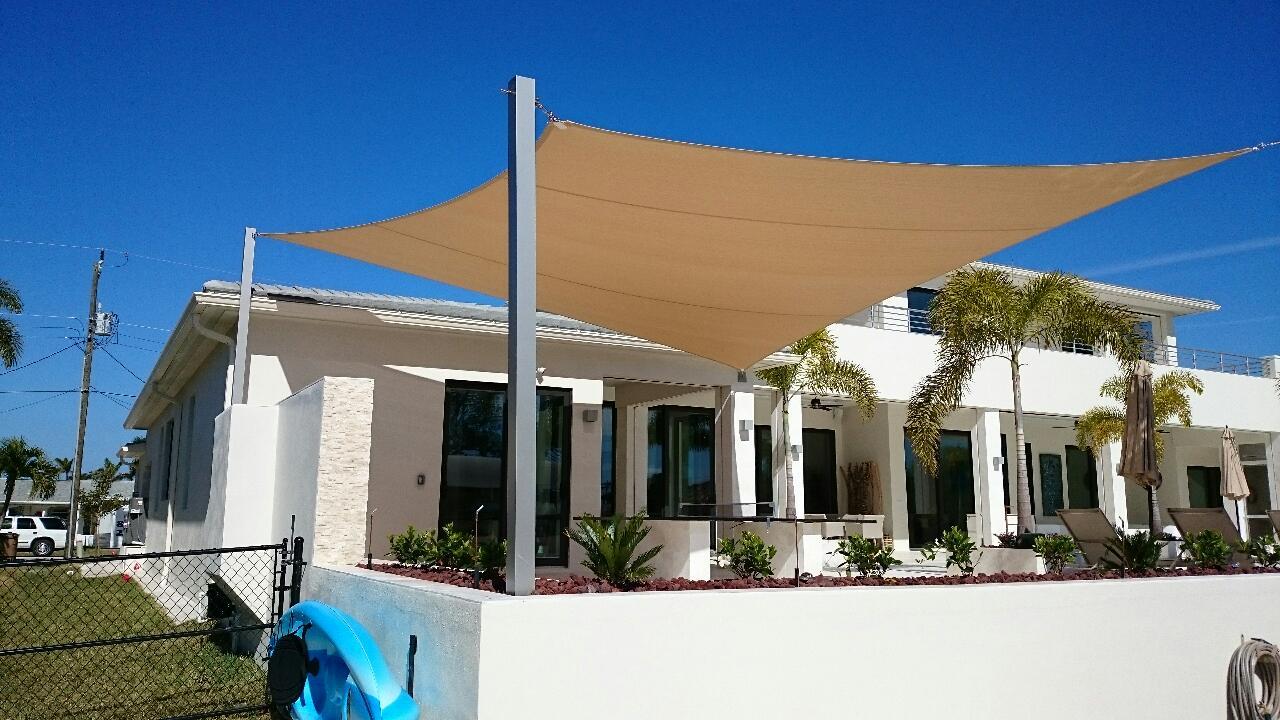 Shade Sails For Shade Covering Fort Myers Amp Naples